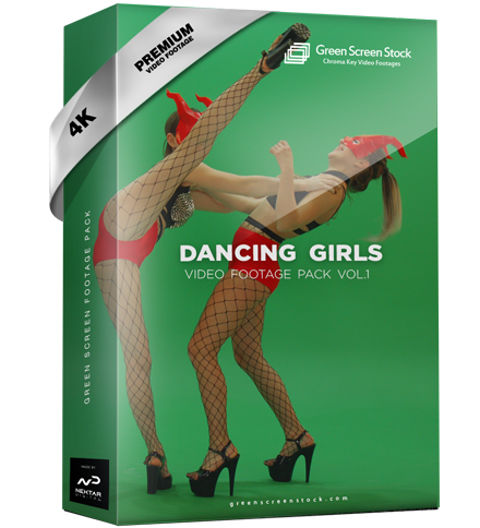 Green Screen Video Footage Pack Dancing Girls