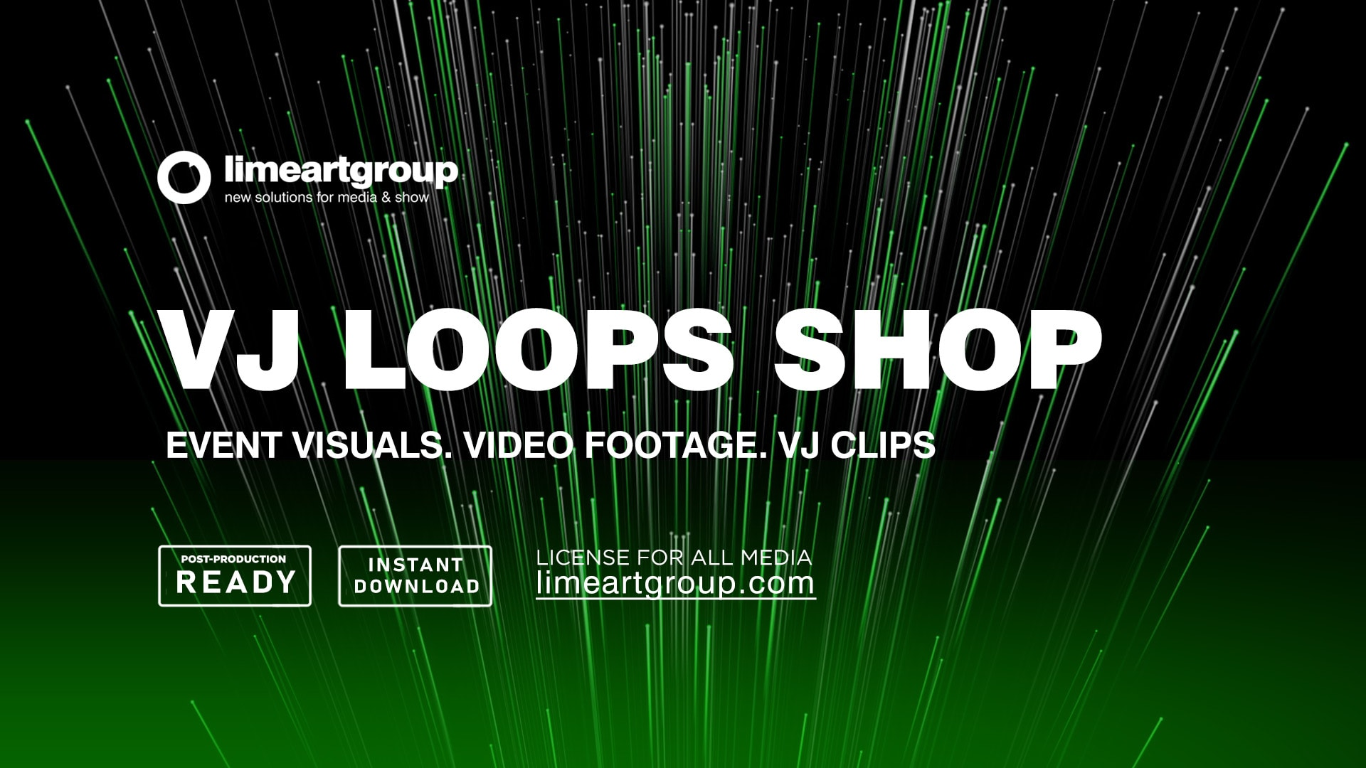 VJ Loops Shop  Video Footages at LIME ART GROUP Shop