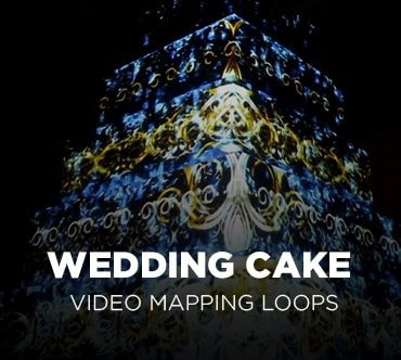 Wedding Cake Video Mapping
