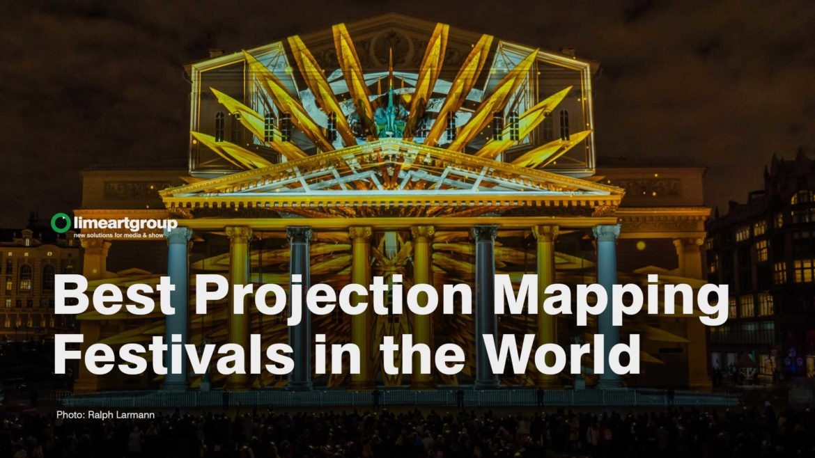 Video Mapping Festivals