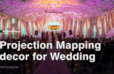 projection video mapping wedding