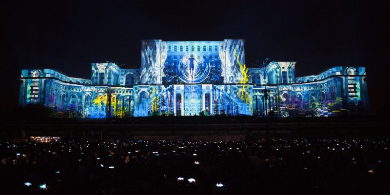 projection mapping festival