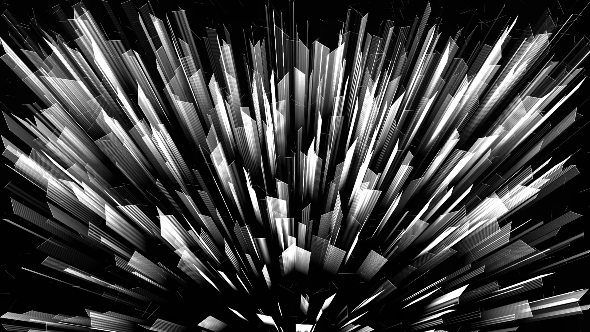 Black squares motion background stock footage Video art vj loop
