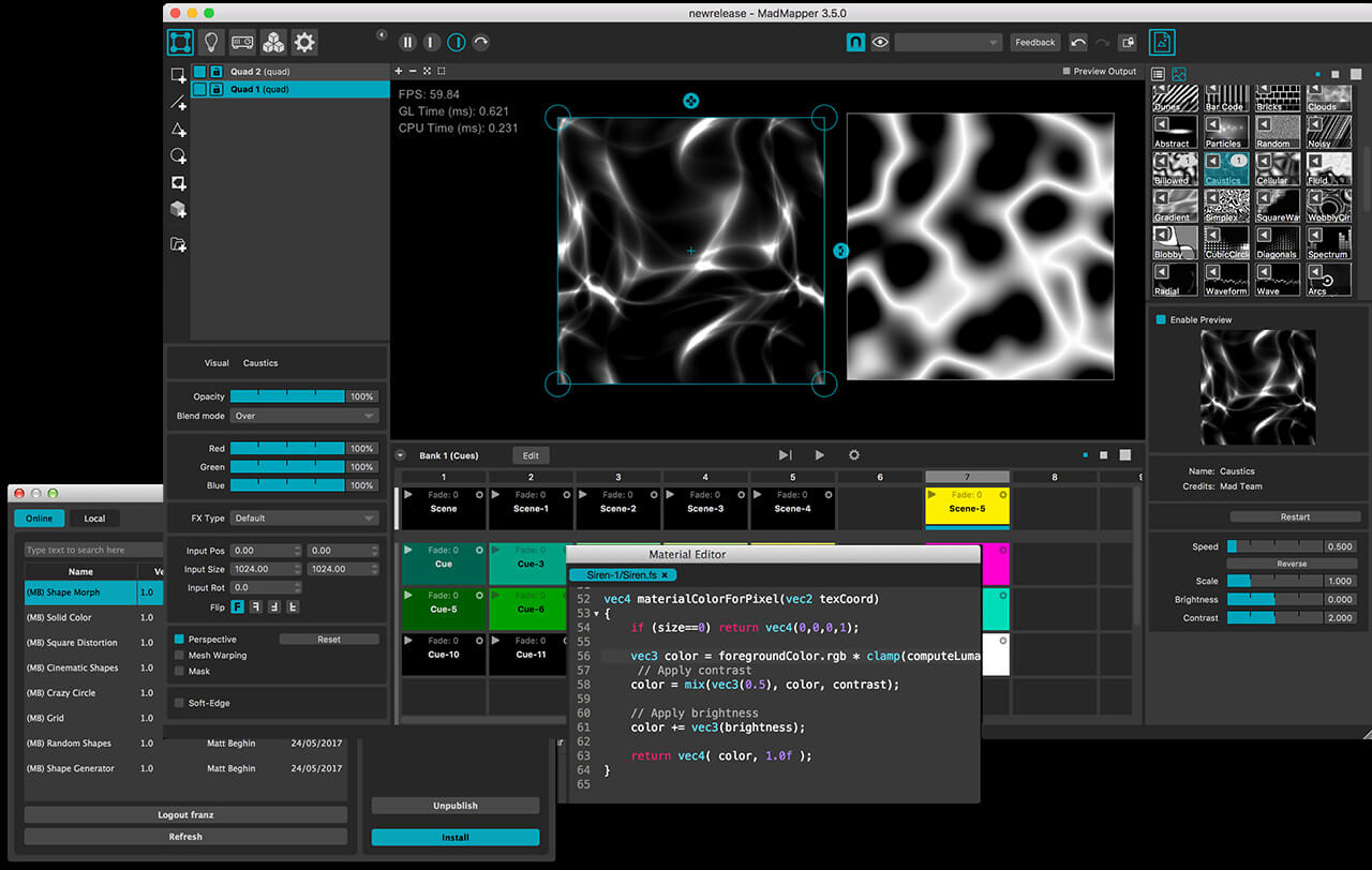 TOP-5 Video Mapping Software - LIME ART GROUP BLOG: VJ Video Blog