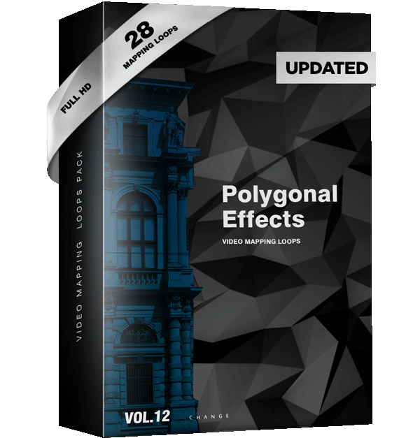 Polygonal-Effect-Video-Mapping-Loops-Pack