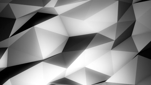 Polygonal art texture video mapping loop Layer 1