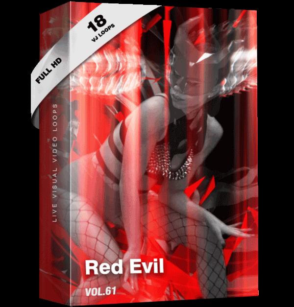 Red-Evil Vj Loops Video