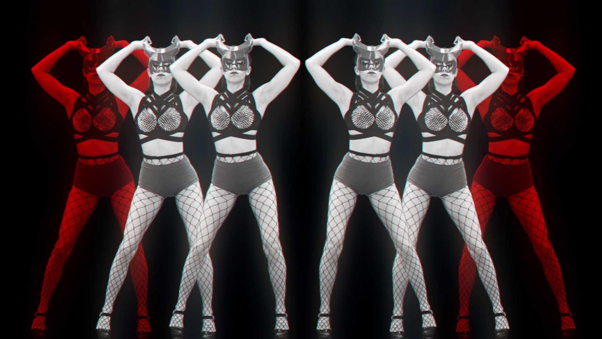 Red_Evil_Demon_Go_Go_Girls_Dancing_Video_Footage_VJ_Loop