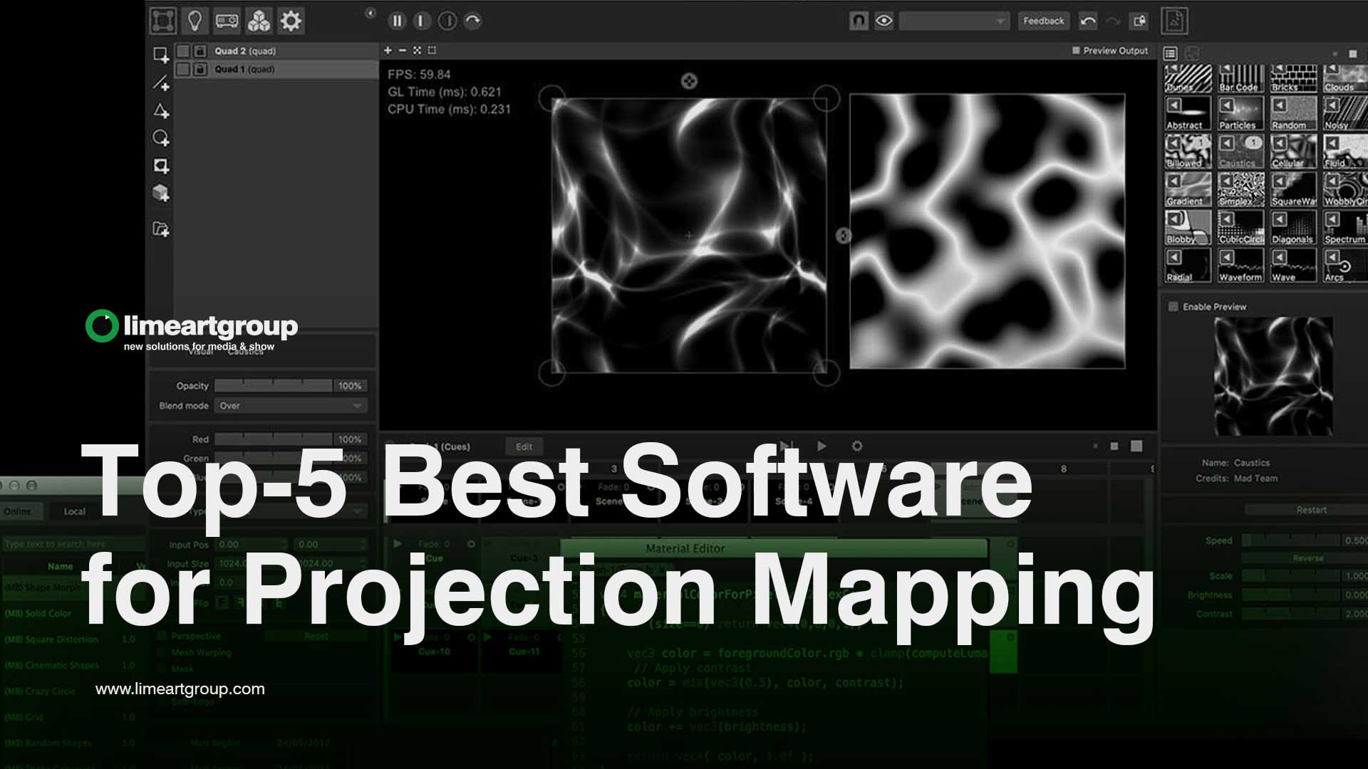 software for projection mapping