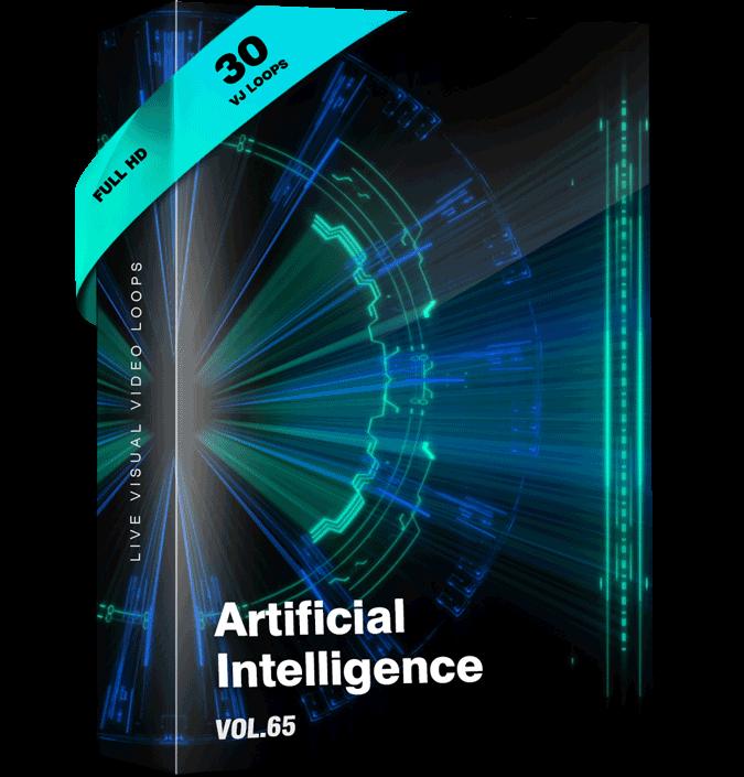 Artificial-intelligence VJ Loops
