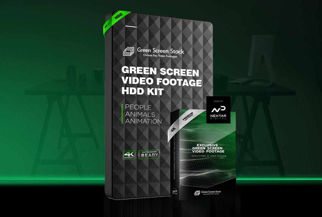 green screen footage