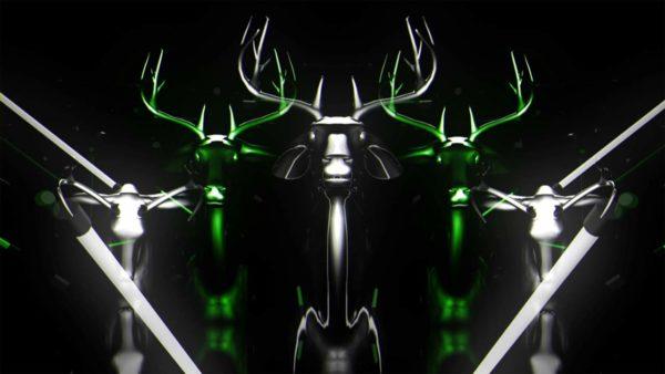 Neon Deers Vj loops