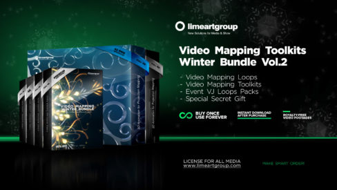 Winter Bundle video mapping