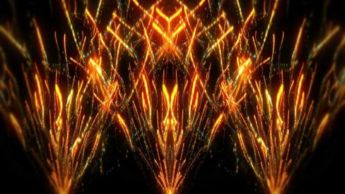 Fireworks vj loops backgrounds