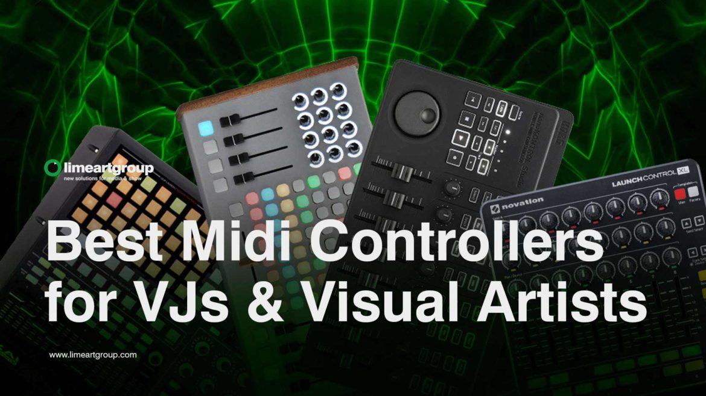 Midi controllers for vj VJING