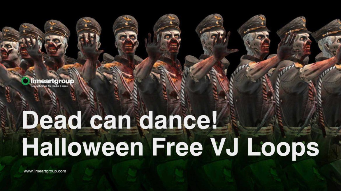 Halloween video backgrounds