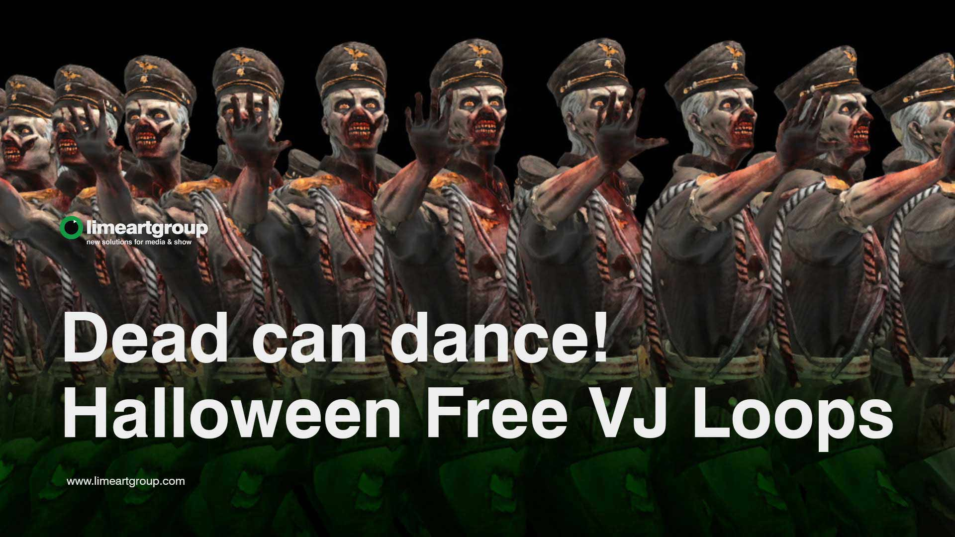 Halloween video backgrounds