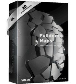 Fulldome maps