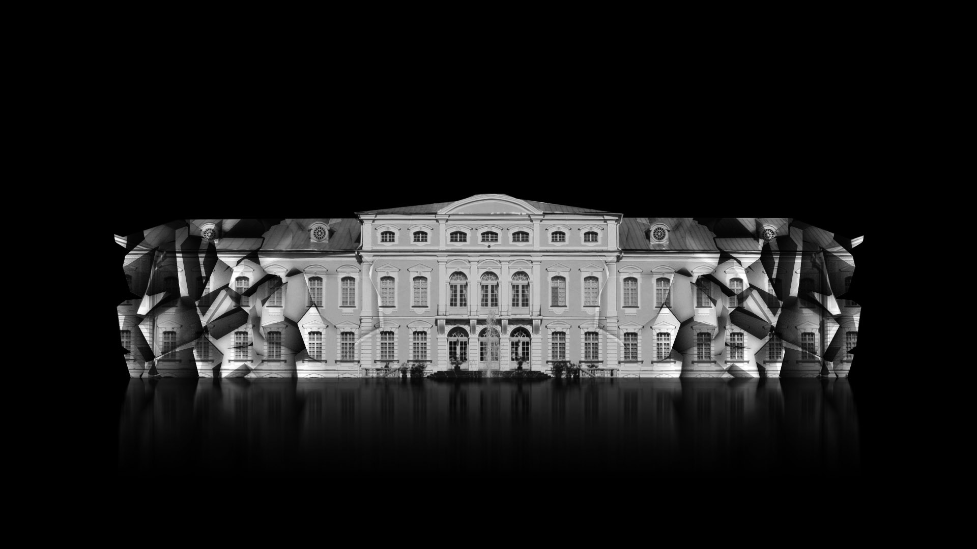 ultrawide video mapping projection architecture