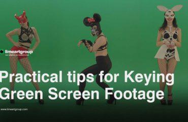 green screen keying