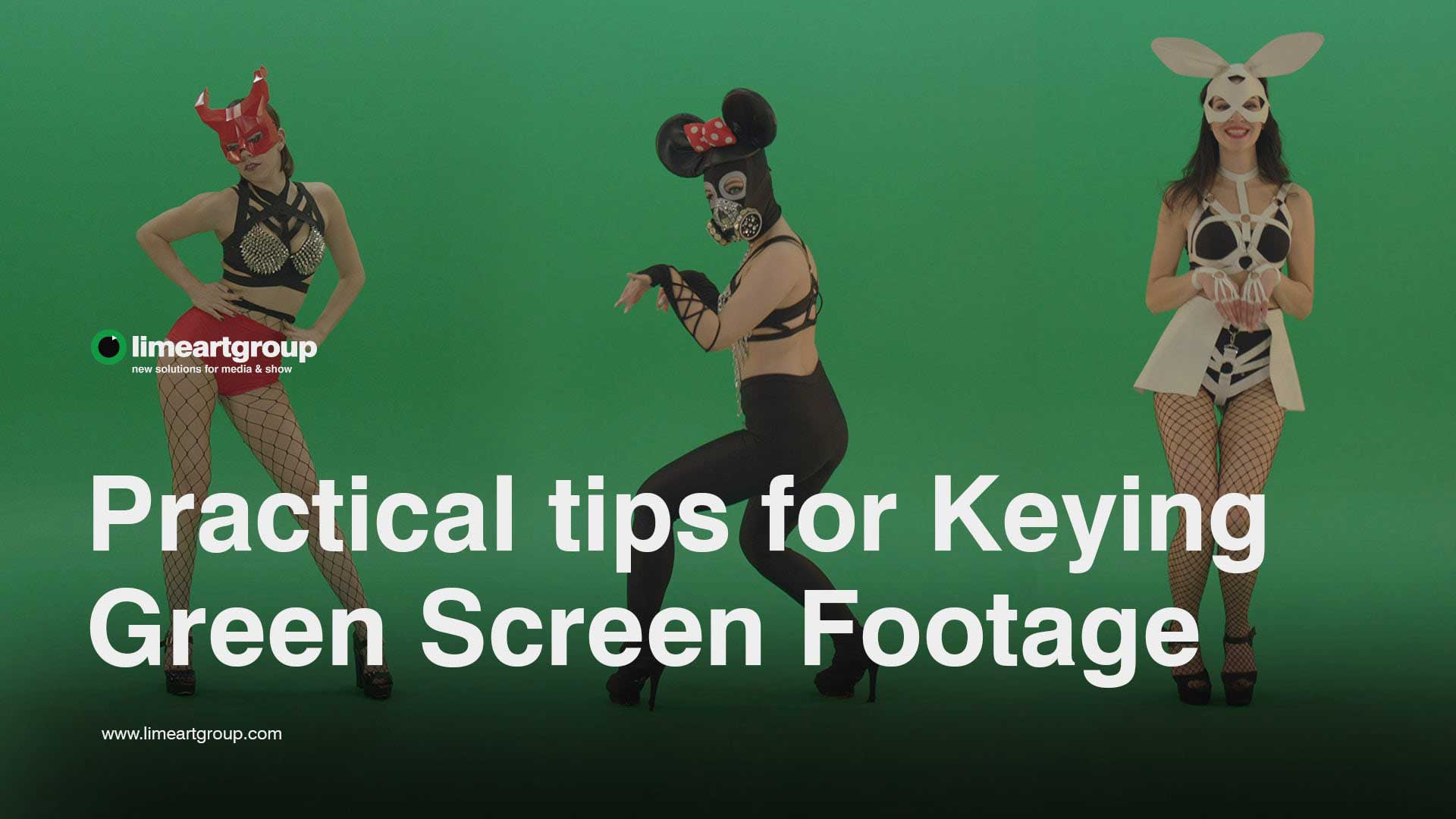 green screen keying