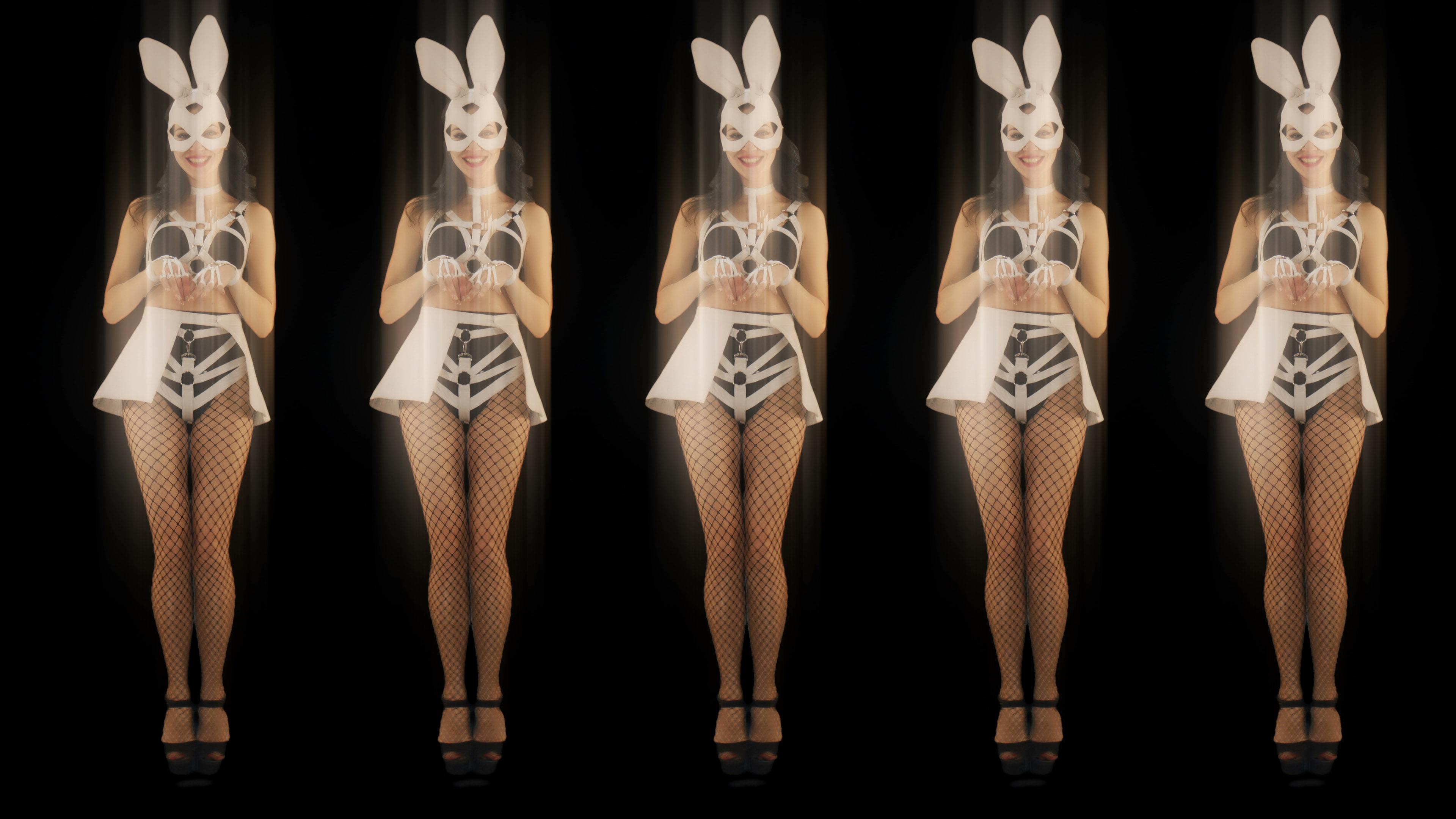 go go dancer girl rabbit