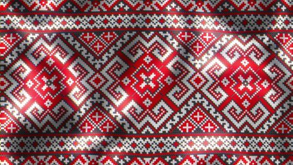 Ukraine ornament video footage
