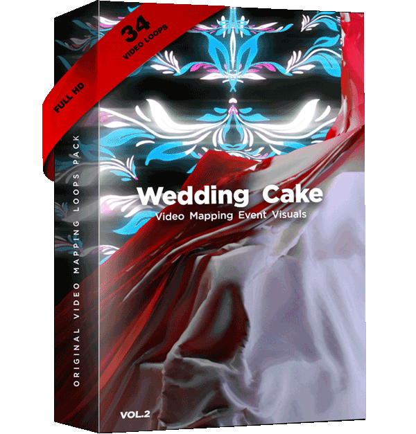 Wedding-Video-Mapping-Cake