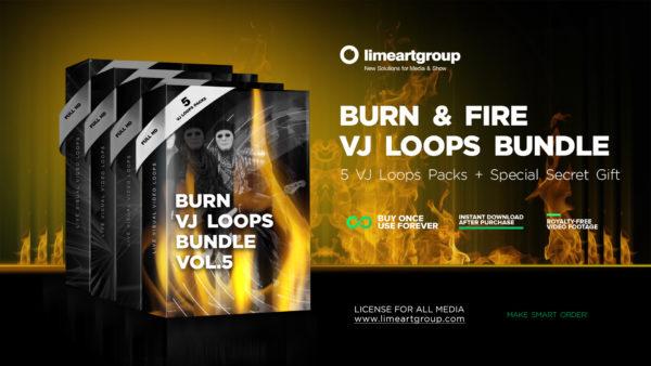 Bundle 5 VJ Loops Preview Fullhd