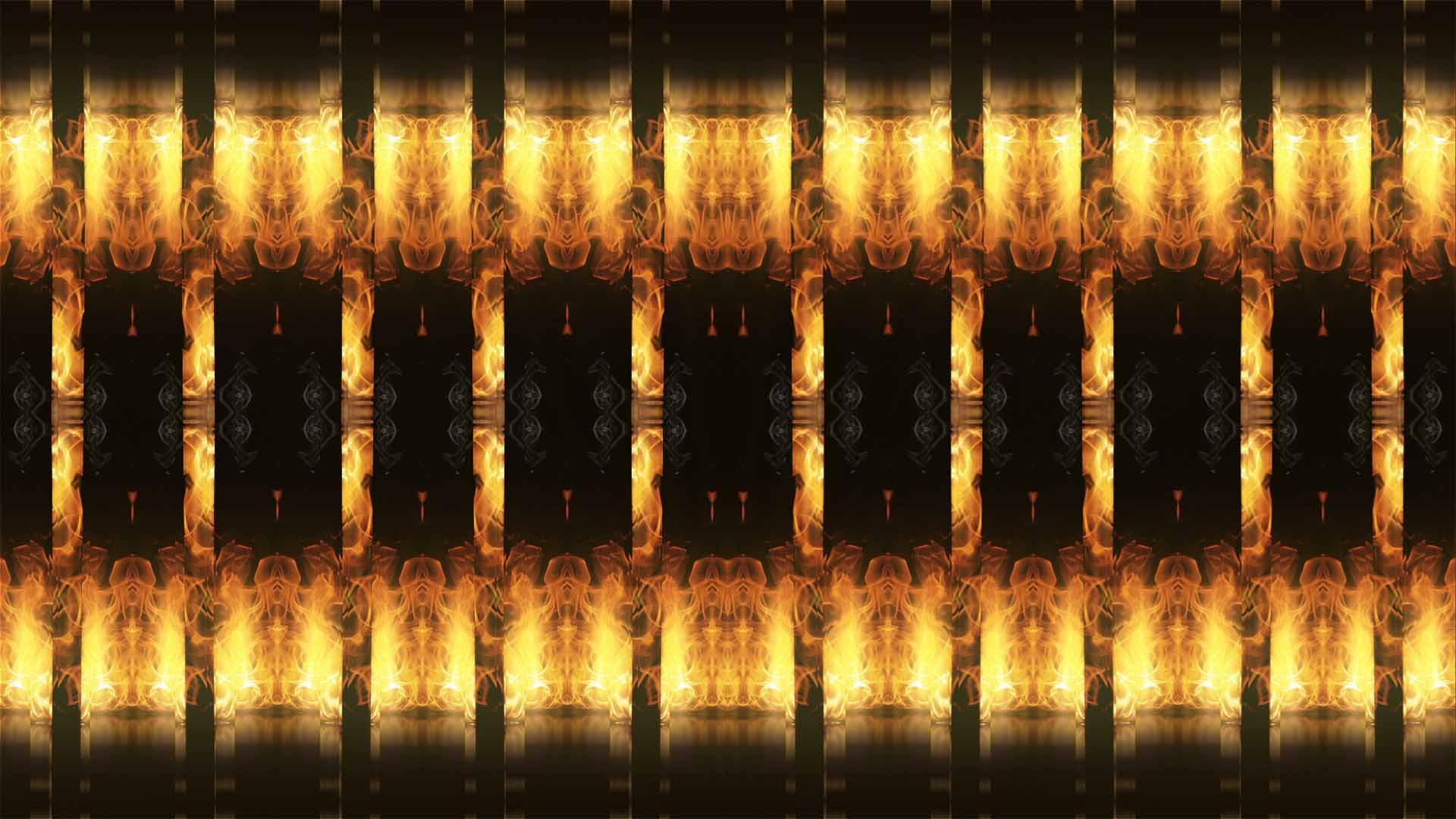 flame vj loop video
