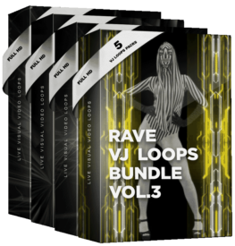 rave vjing vj loops bundle
