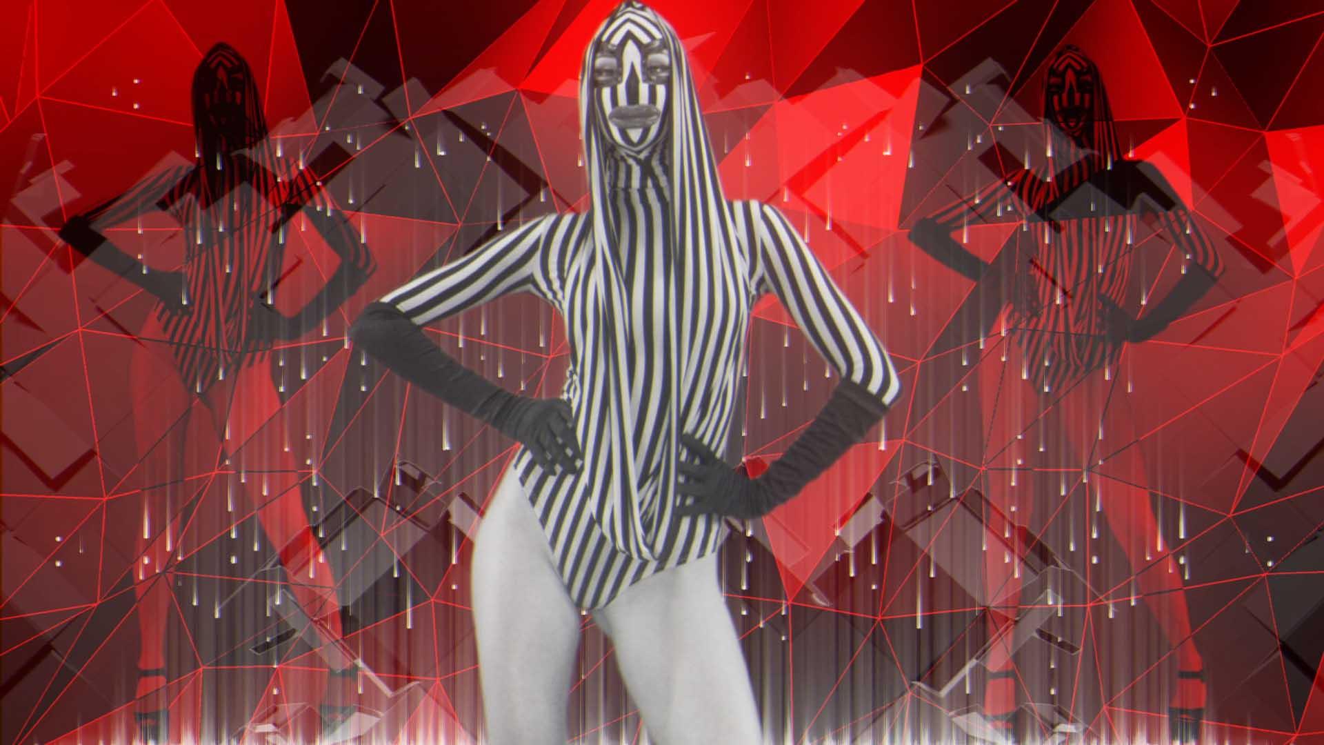 Go Go Girl Abstract Video Loop Vj