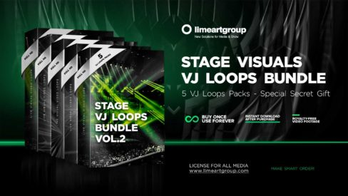 stage visuals vj loops bundle video