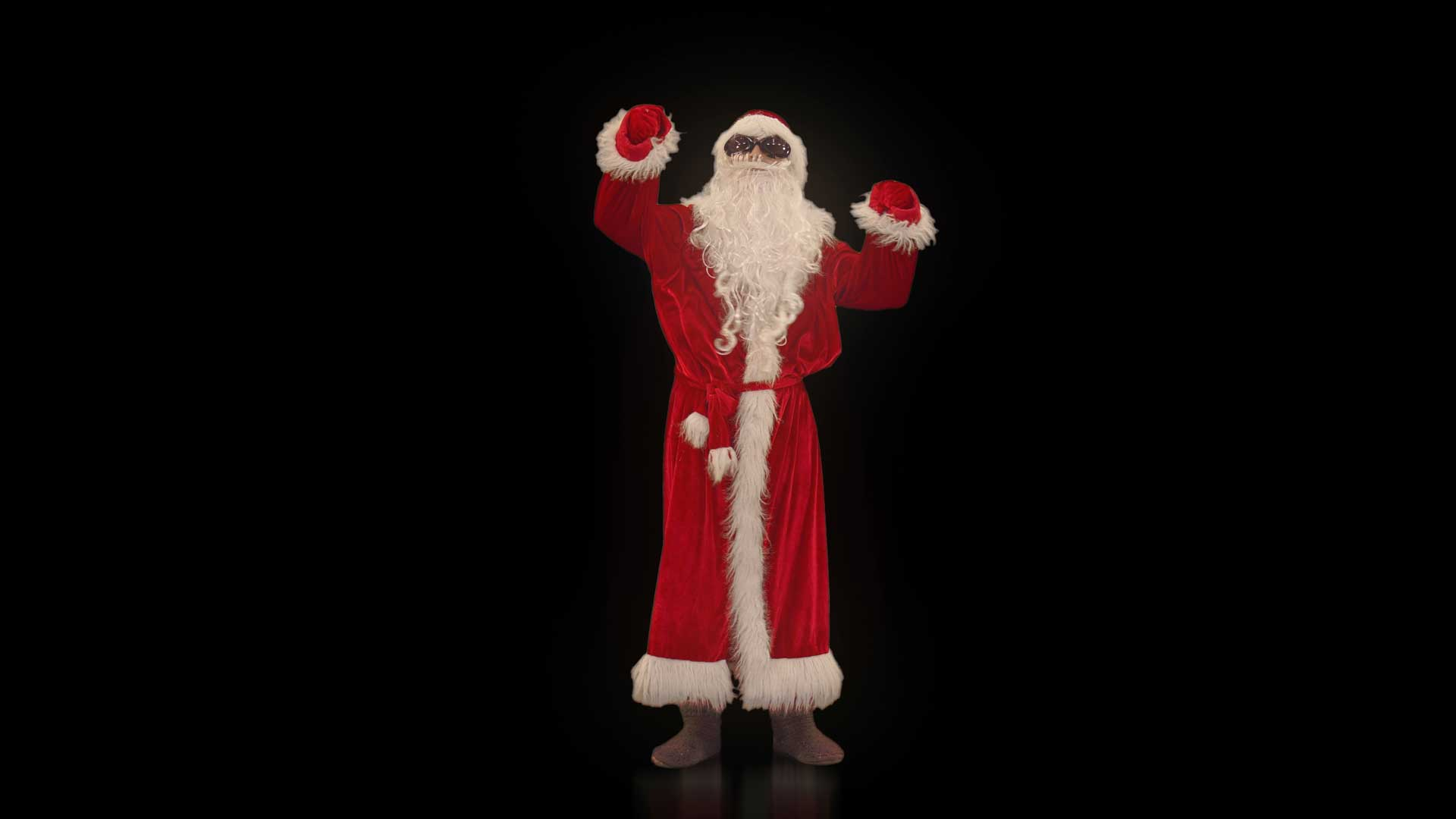 Santa_Claus-Dancing_man_isolated_on_black_background_video_art_4K_looped_video_footage9
