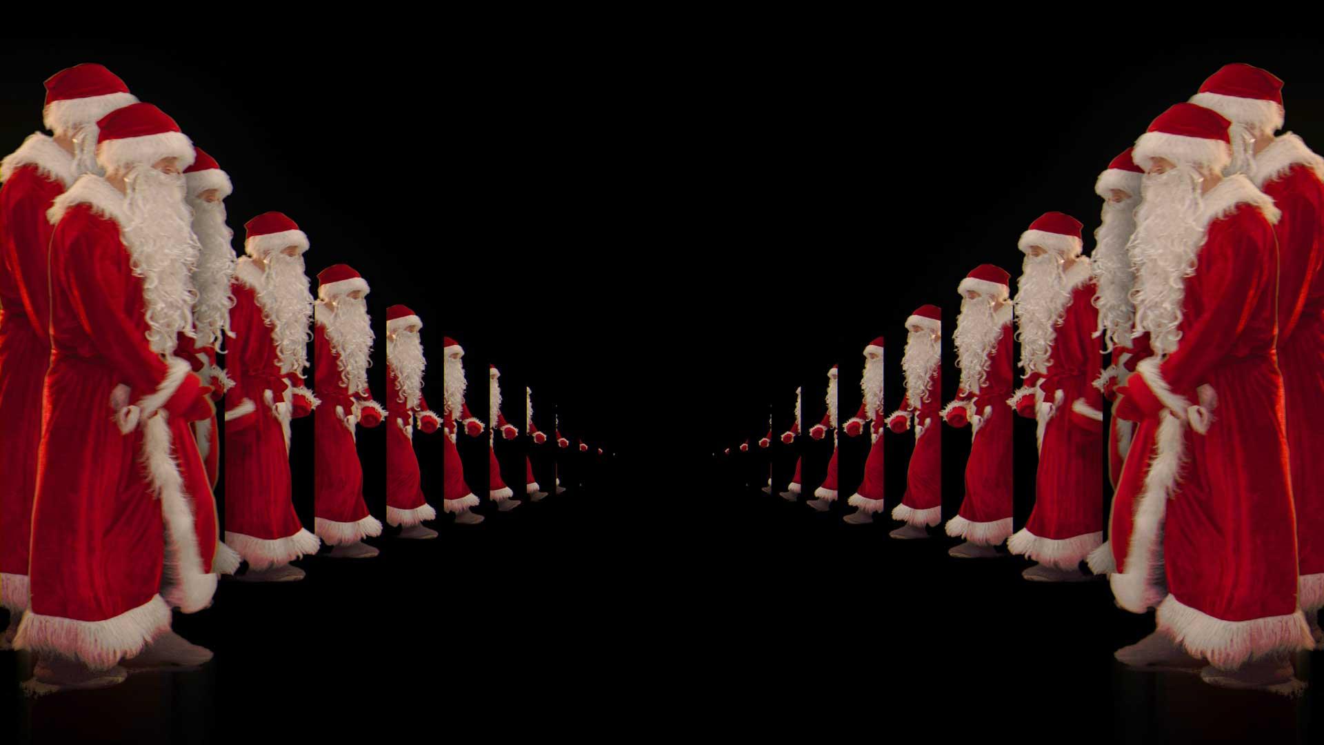 vj loops santa dance