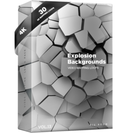 Explosion-Backgrounds-Video-mapping-loops-pack