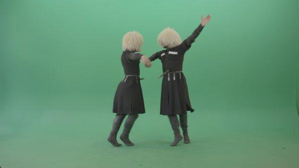 people dancing over green screen video