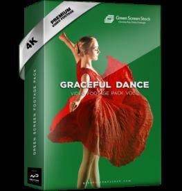 Graceful Dance - Green Screen Video Footage Pack Vol.2
