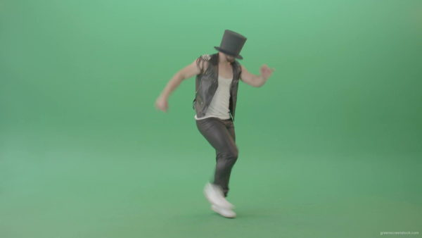 Hip-Hop Dance Green Footage