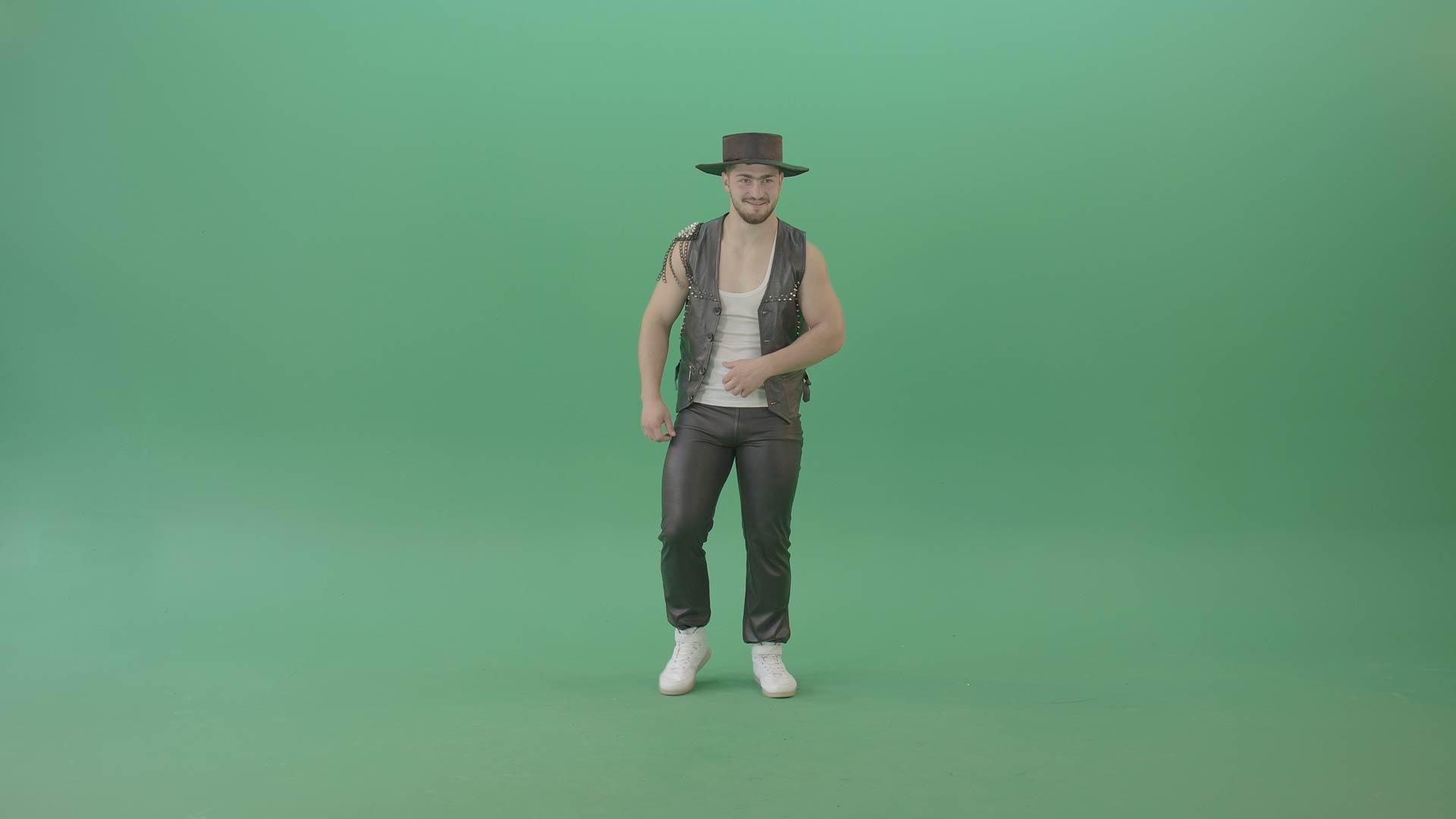 Modern-dance-green-screen-video-footage