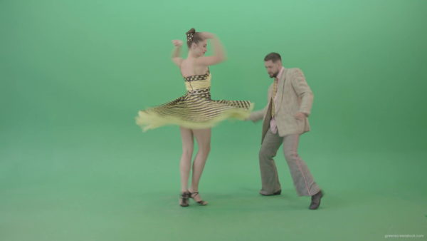 Contemporary Dance Green Screen Footage