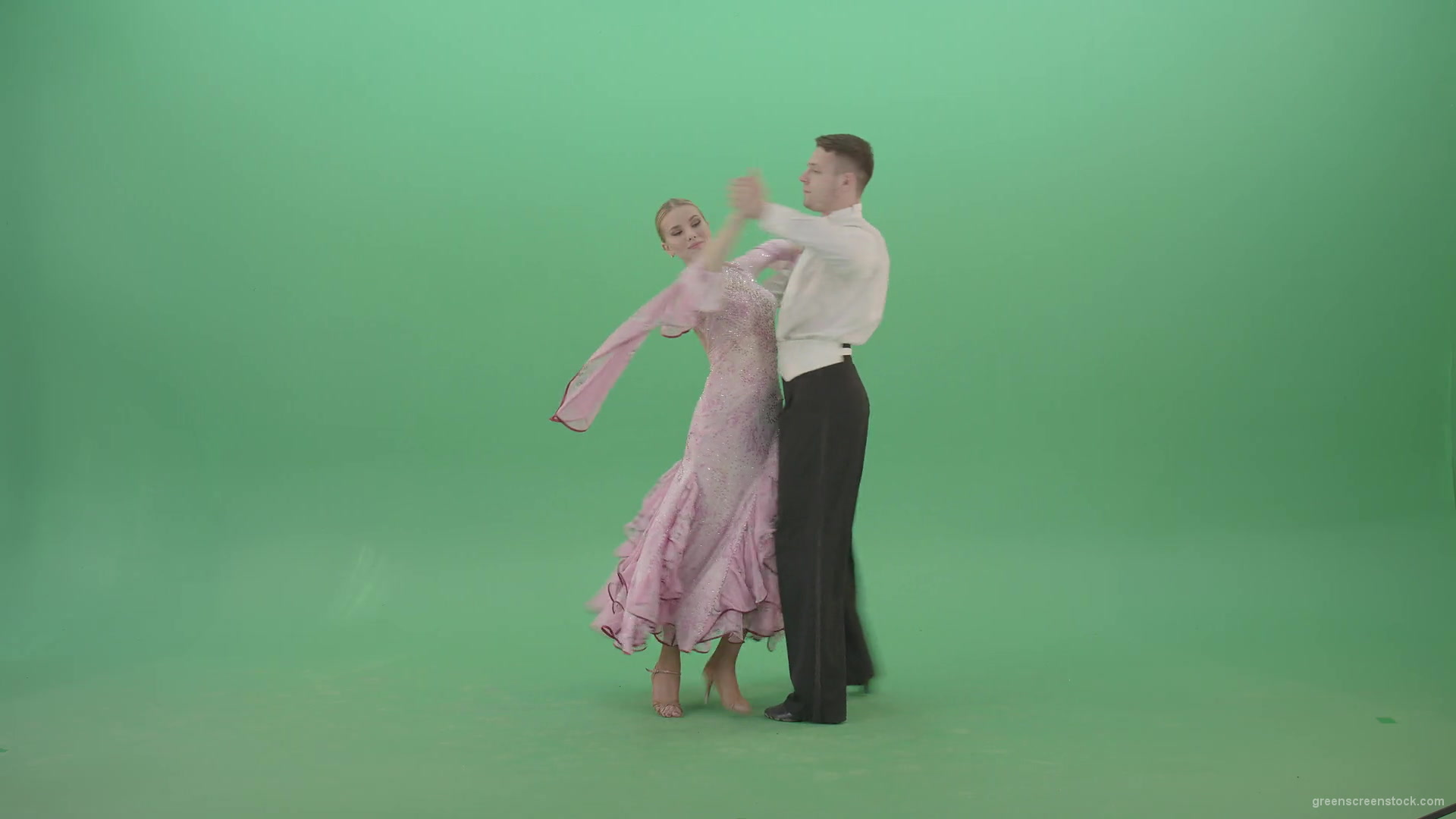 Ballet Dance Green Screen Footage
