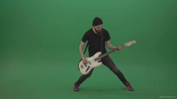 Guitarist Green Screen Footage