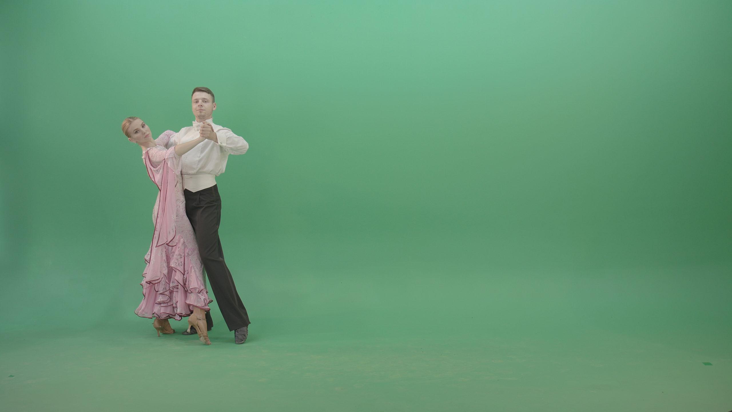 ballroom dance green screen footage stock footage