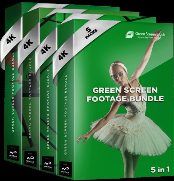 Green Screen Footage Bundle